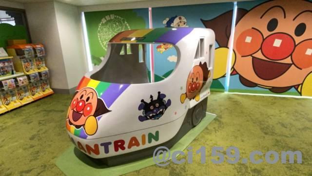 高知駅内のアンパンマンコーナー