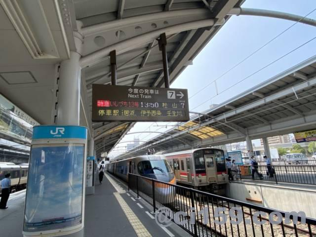 高松駅のホーム