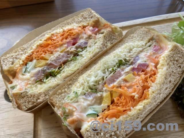 NORTHSHORE_KAGAWAのスプラウトサンドイッチ