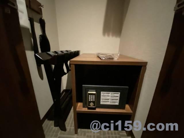 ホテルトラッド博多のセーフティボックス