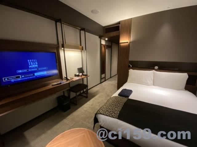 ホテルトラッド博多の客室