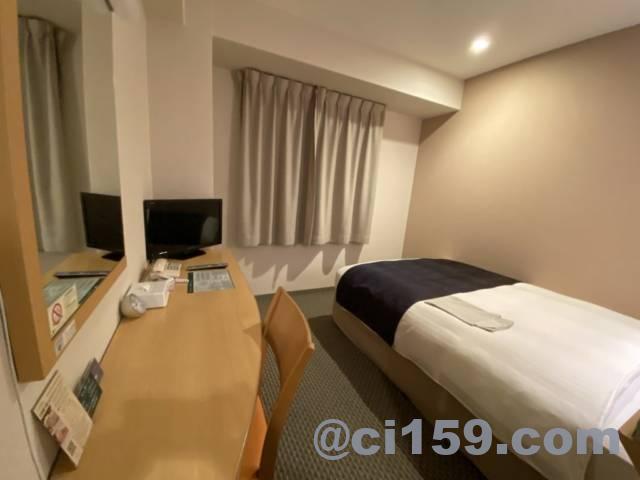 ホテルアービック鹿児島の客室