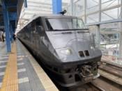 宮崎駅に停車中の787系特急にちりん号