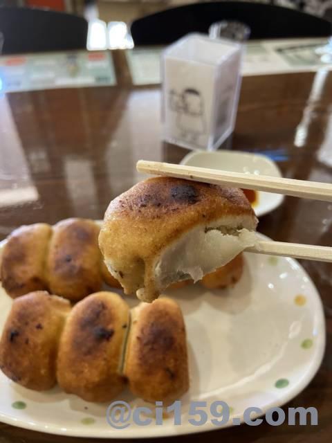 茶しんのホワイト餃子