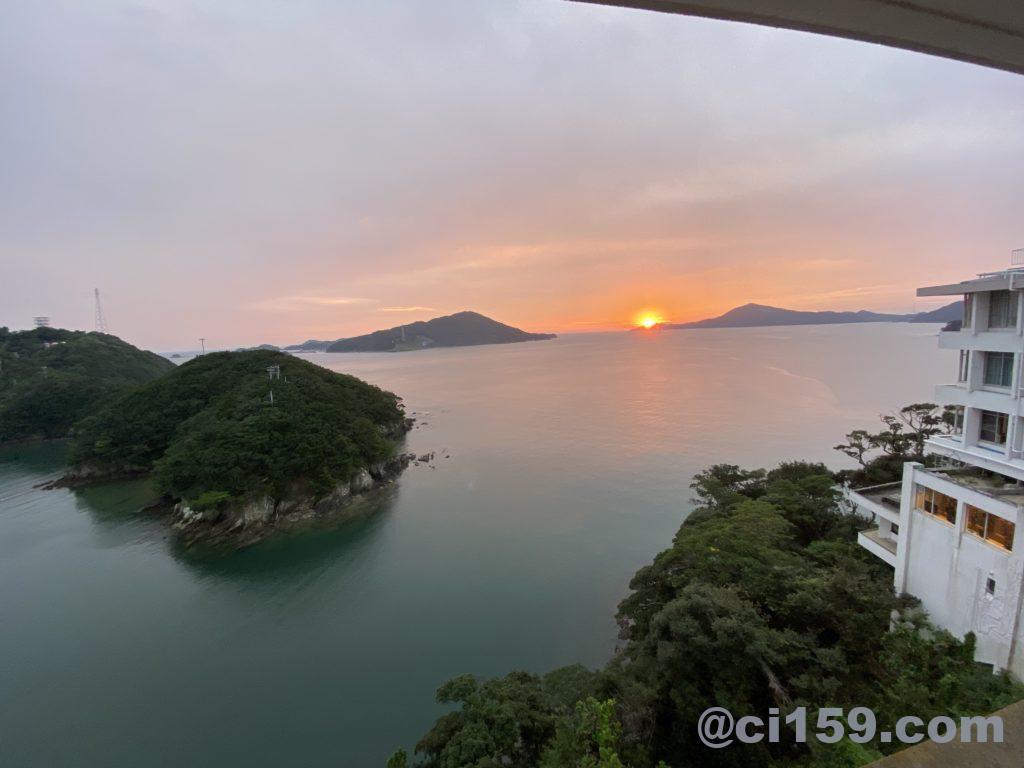 湯快リゾート鳥羽彩朝楽からの景色