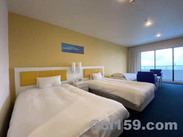 ホテル&リゾーツ 南淡路のベッド