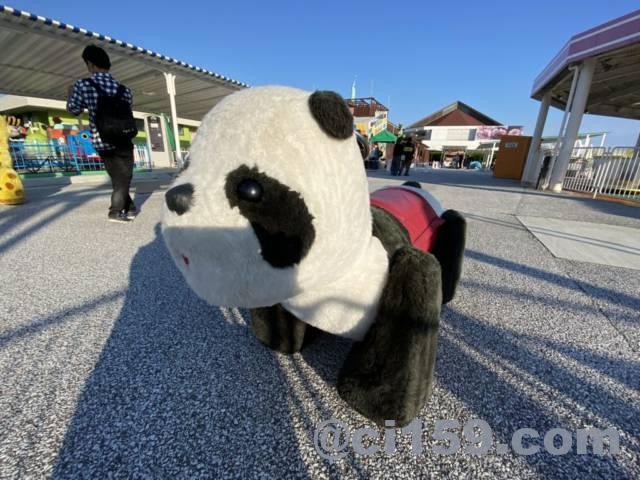 ONOKOROのパンダの乗り物