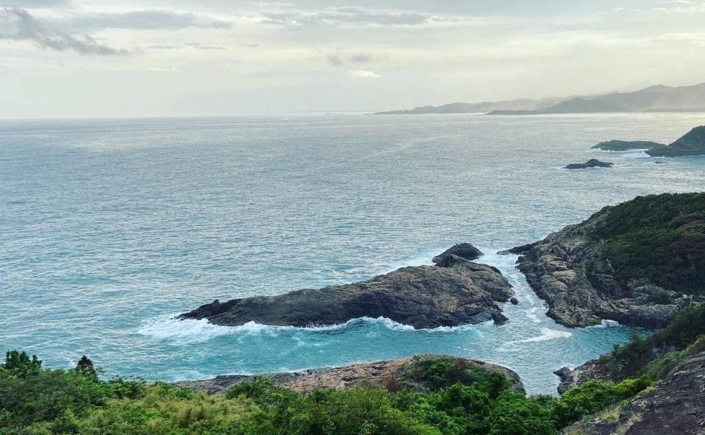 「願いが叶うクルスの海」の景色