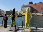 門司港のバナナマン