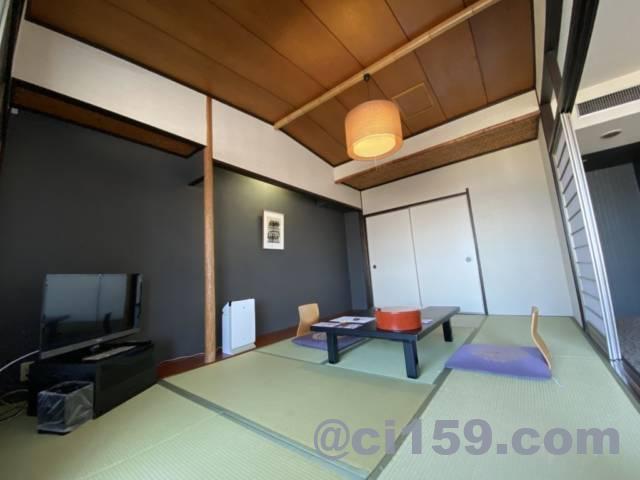 杉乃井ホテル客室内の和室