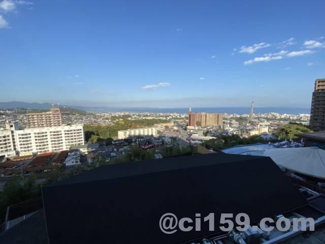杉乃井ホテル客室からの眺め