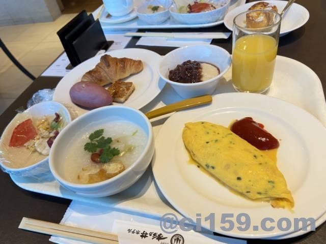 バイキングレストラン「Seeds」の朝食