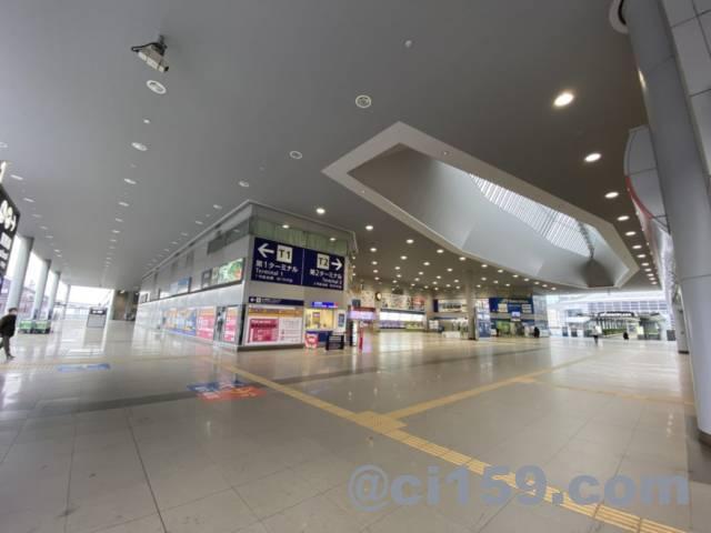 関西空港駅のエントランス