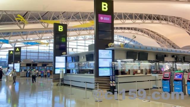関西空港の国際線フロア