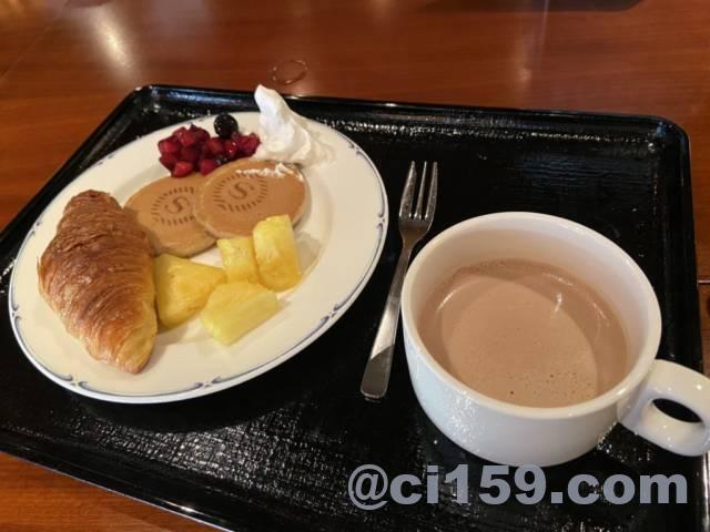 シェラトングランデオーシャンリゾートの朝食