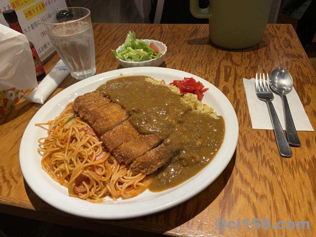 HANAMARU厨房のトルコライス普通