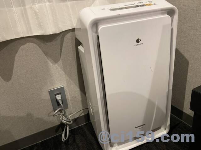 エスペリアホテル博多の空気清浄機