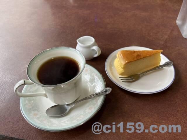 カフェ&レストラン「ボエーム」のコーヒー