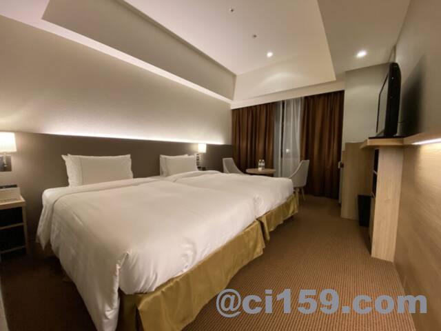 ロイヤルパークホテル福岡の客室