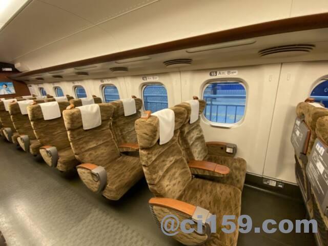 九州新幹線の指定席