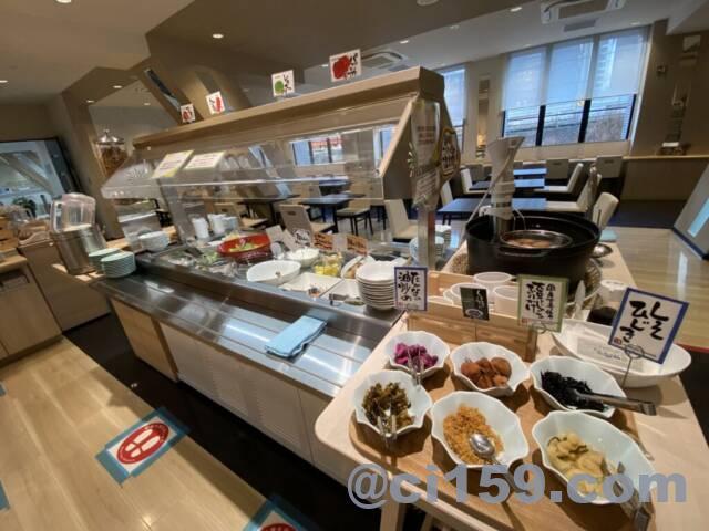 静鉄ホテルプレジオ博多駅前の朝食会場