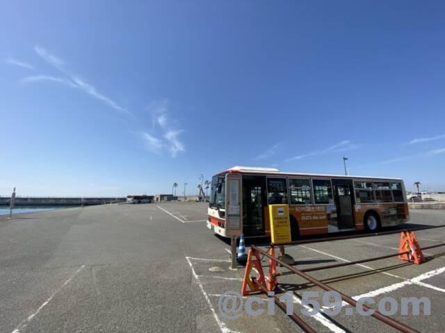 バス停マリーナシティ