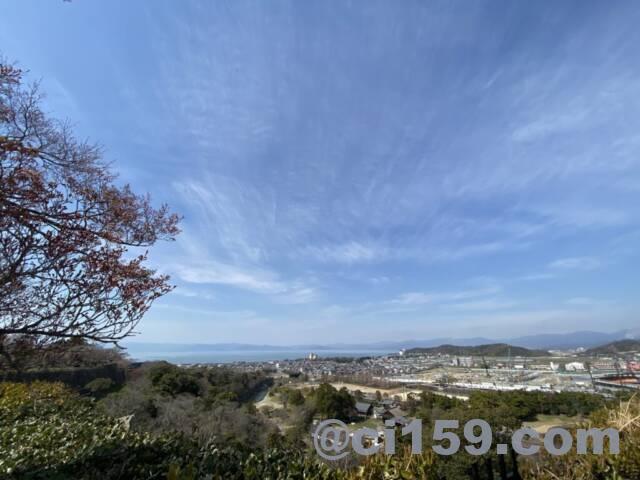 彦根城からの眺め