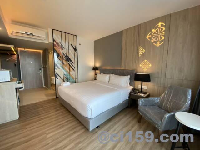 アンバーホテルパタヤの客室