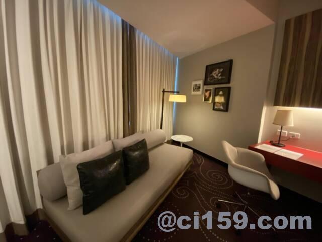 ハードロックホテルパタヤの客室